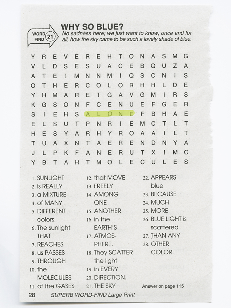 PAP-Crossword